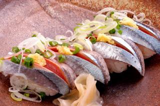 新サンマ寿司