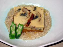 南瓜豆腐 -鰻入り-