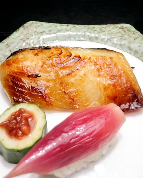 銀鱈西京焼き