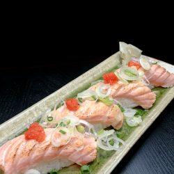 トロサーモンの焼きめ寿司