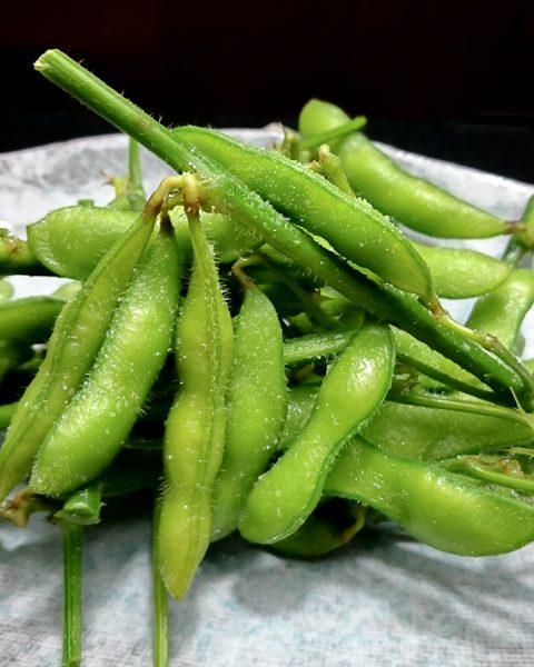 茹でたて枝豆