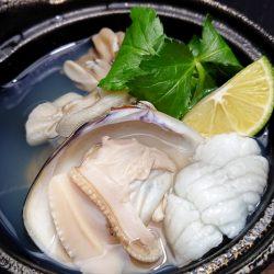 蛤と舞茸の土瓶蒸し