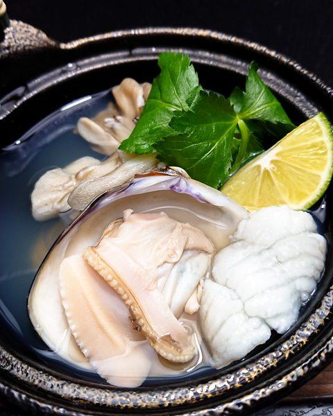 舞茸と蛤の土瓶蒸し