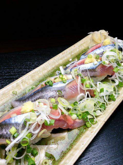 秋刀魚 にぎり寿司