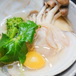 蛤の茶碗蒸し