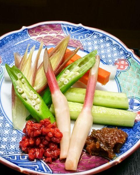 夏野菜とお味噌