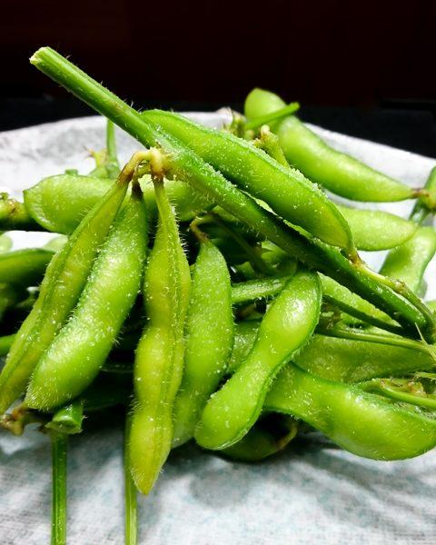 枝付きの枝豆